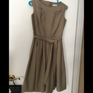 Calvin Klein full skirt dress